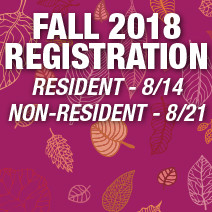 Fall Registration Opens