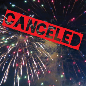 July 3 Festivities Canceled